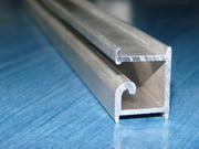 Профиль, вкладки алюминиевые в экспопанели