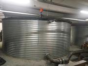 Пожарный резервуар на 200 кубов для воды,  емкость 200 м3